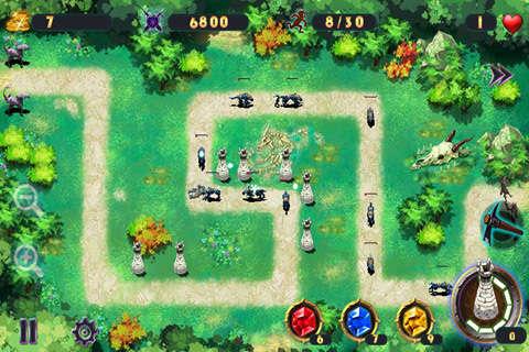 魔兽争霸 塔防 最新的魔兽塔防类地图